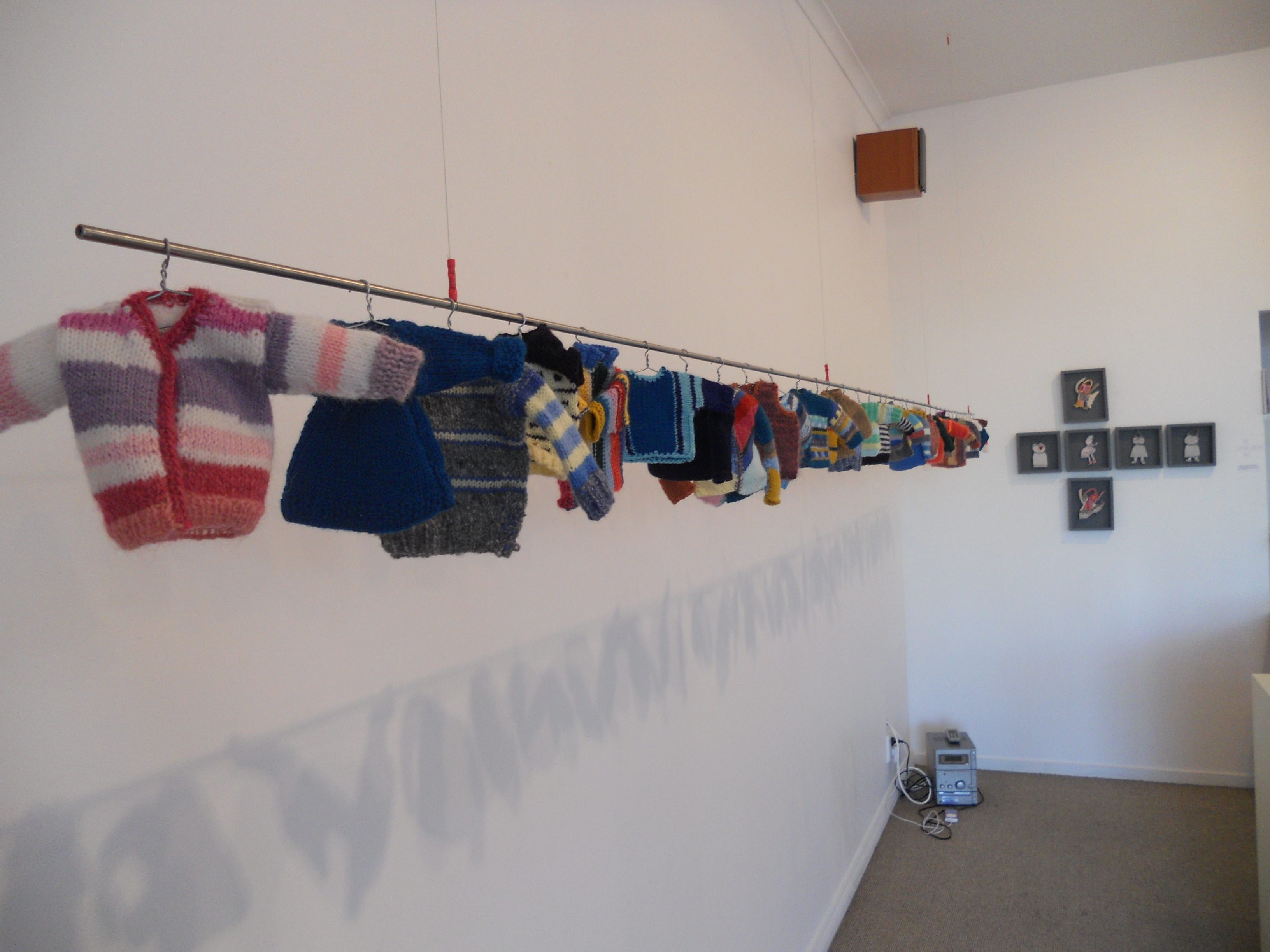 Gallery shot knitting
