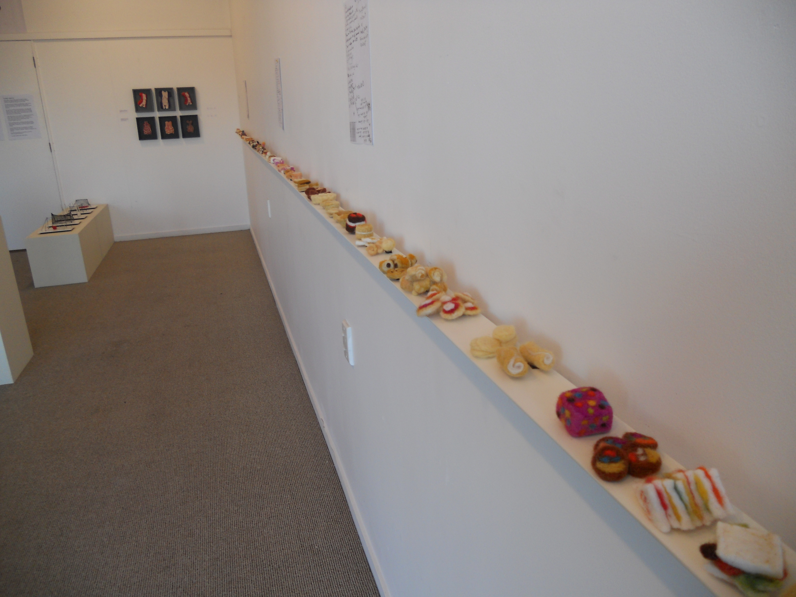 """Gallery Photo of Baking, set on a very long """"table"""""""